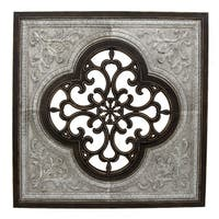 Three Hands Metal/Wood Wall Decor
