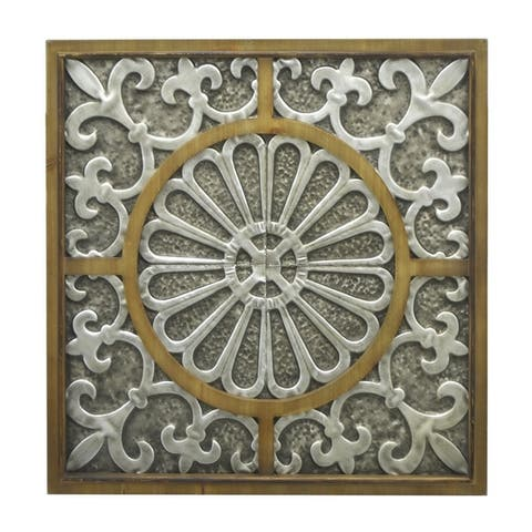 Three Hands Metal Wall Decor