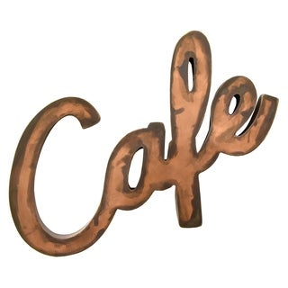 Three Hands Metal Cafe Wall Decor