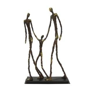 Three Hands Resin Family Figurine