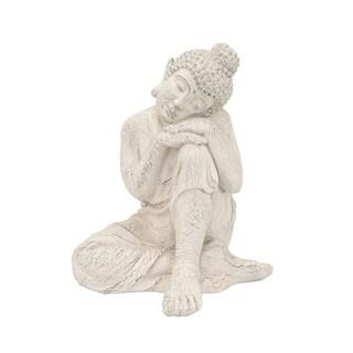 Three Hands Resin Sitting Buddha
