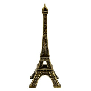 Three Hands Bronze Resin Eiffel Tower Tabletop Decoration