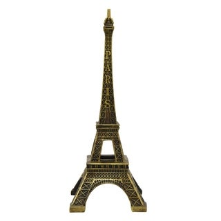 Three Hands Bronze Resin Eiffel Tower Tabletop Decoration