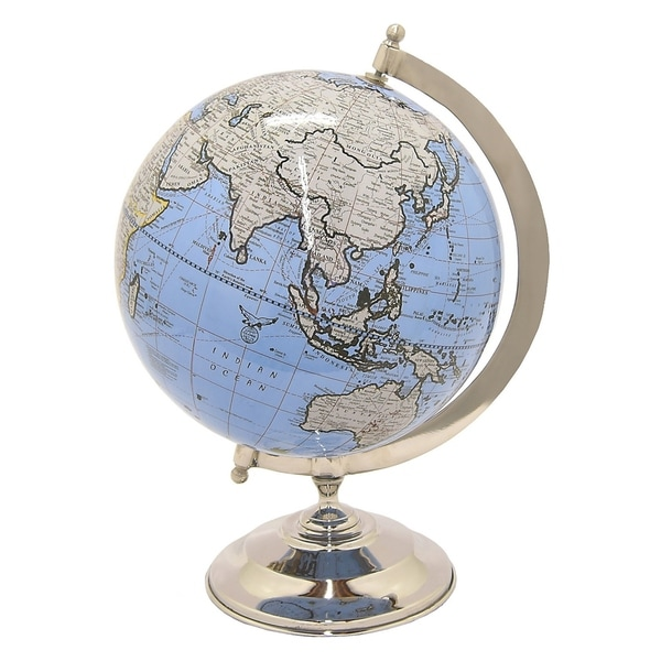 "Three Hands Globe 8"" - Nickel Base"