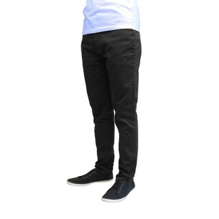 Galaxy By Harvic Men's Slim Fit Stretched Chinos