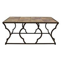 Three Hands Metal / Wood Table