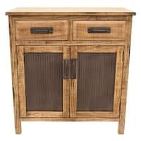 Three Hands Wood Cabinet