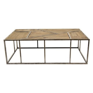 Three Hands Metal / Wood Coffee Table