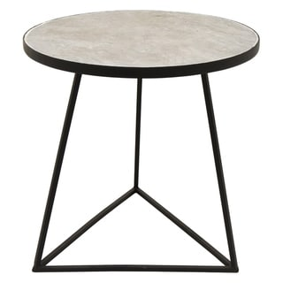 Three Hands Metal Side Table