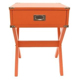 Three Hands Side Table- Orange