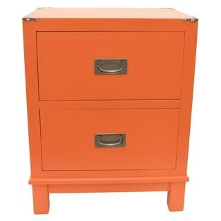 Three Hands Wood Cabinet-Orange