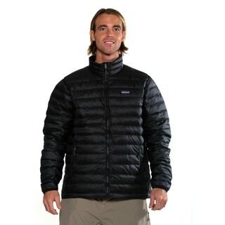 Patagonia men's down sweater jacket navy