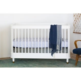 Million Dollar Baby Classic Tanner 3-in-1 Convertible Crib - Warm White