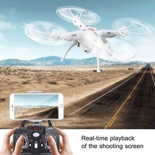 WIFI FPV 2.4Ghz 4CH 6-Axis RC Quadcopter Drone Camera HD RTF Christmas