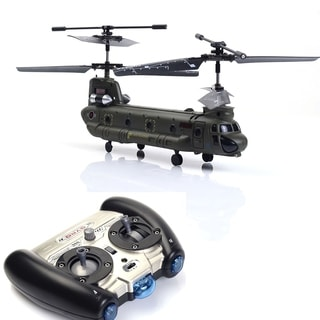 Remote Control Mini Chinook RC Helicopter w/GYRO Christmas Gift Toy