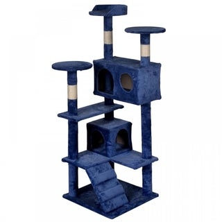 Cat Tree Tower Condo Furniture Scratch Post Kitty Pet House New T52