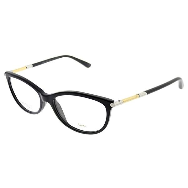 2799340fbc Shop Jimmy Choo Cat-Eye JC 154 SBF Women Black Frame Eyeglasses ...