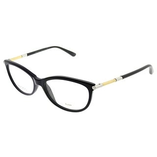 Jimmy Choo Cat-Eye JC 154 SBF Women Black Frame Eyeglasses