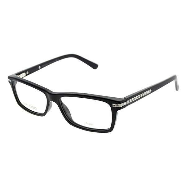 734a4d3d4e08 Shop Jimmy Choo Rectangle JC 59 807 Women Black Frame Eyeglasses ...