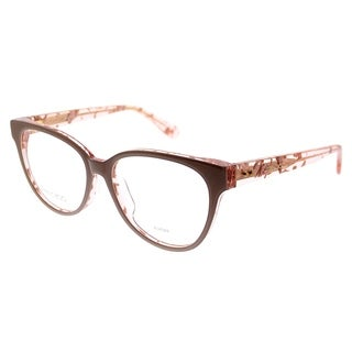 Jimmy Choo Cat-Eye JC 145F Asian Fit J42 Women Nude Crystal Pink Spotted Frame Eyeglasses