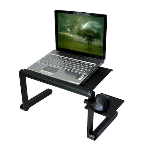 Aluminum Folding Laptop Tray Stand (Lapdesk not included)