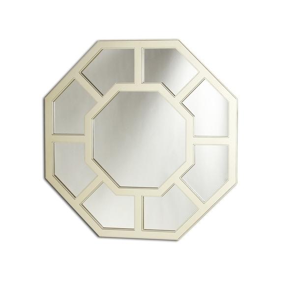 Chloe Silver Octagonal Mirror