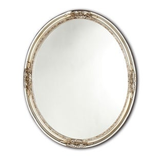Link to Chloe Antique Silver Oval Mirror Similar Items in Mirrors