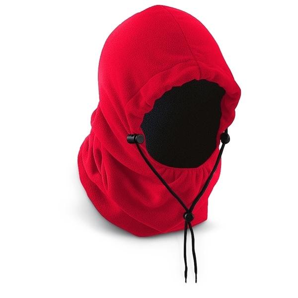 Polar Ex Fleece 6-in-1 Hood – Red