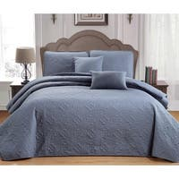 Duck River Carlotta 5 Piece Quilt Set