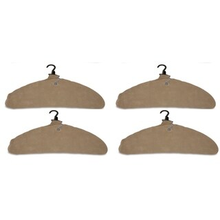 Quick Dry Inflatable Laundry Hangers, Large, Tan - Pack of 4