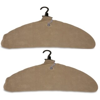 Quick Dry Inflatable Laundry Hangers, Large, Tan - Pack of 2