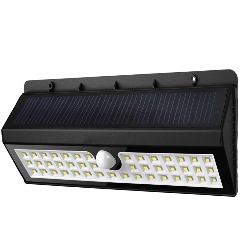 Twice Solar Garden Lights 44 Bright LEDs Motion Sensor Li...