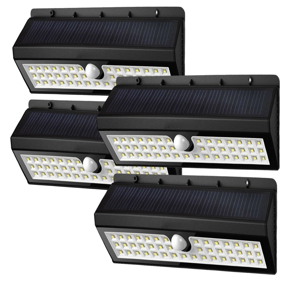 Solar Garden Lights 44 Bright LEDs Motion Sensor Lights W...