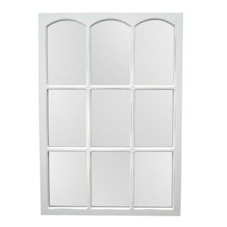 Three Hands Wood Mirror - N - 23.5 X 1 X 35.5