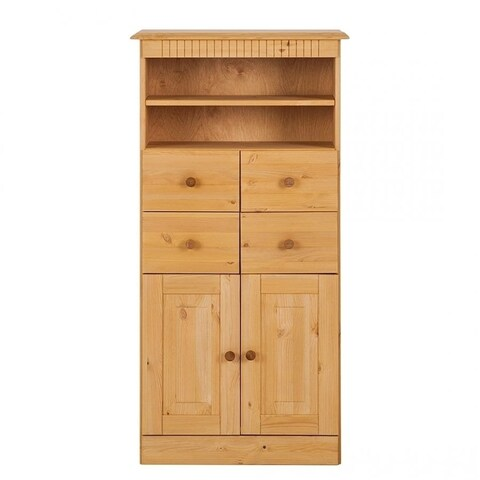 Camille Solid Pine Bath Cabinet