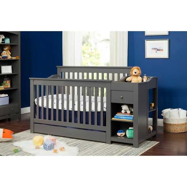 Shop DaVinci Piedmont 4-in-1 Crib And Changer Combo