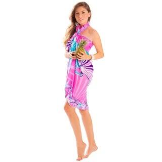 Starfish Seashell Sarong in Pink