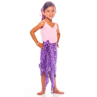 Dragonfly Kids Sarong in Purple