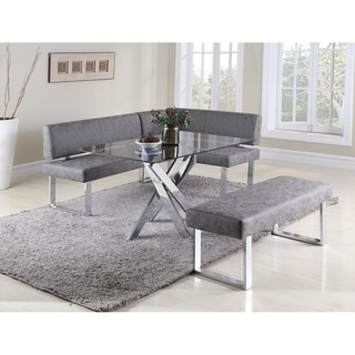 Somette Gene Table and Nook 2-Piece Dining Set