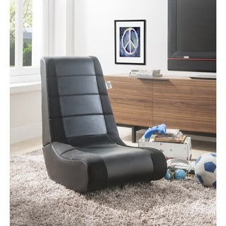 Loungie Rockme Video Gaming Rocker Chair For Kids, Teens, Adults
