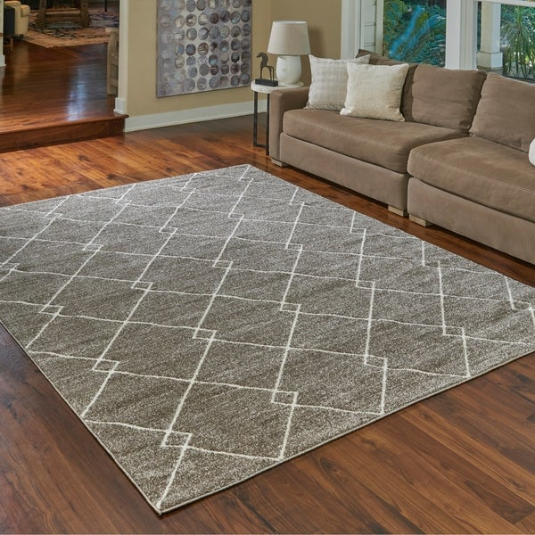 Shop Transitional Lacey Beige Area Rug By Gertmenian 6 6