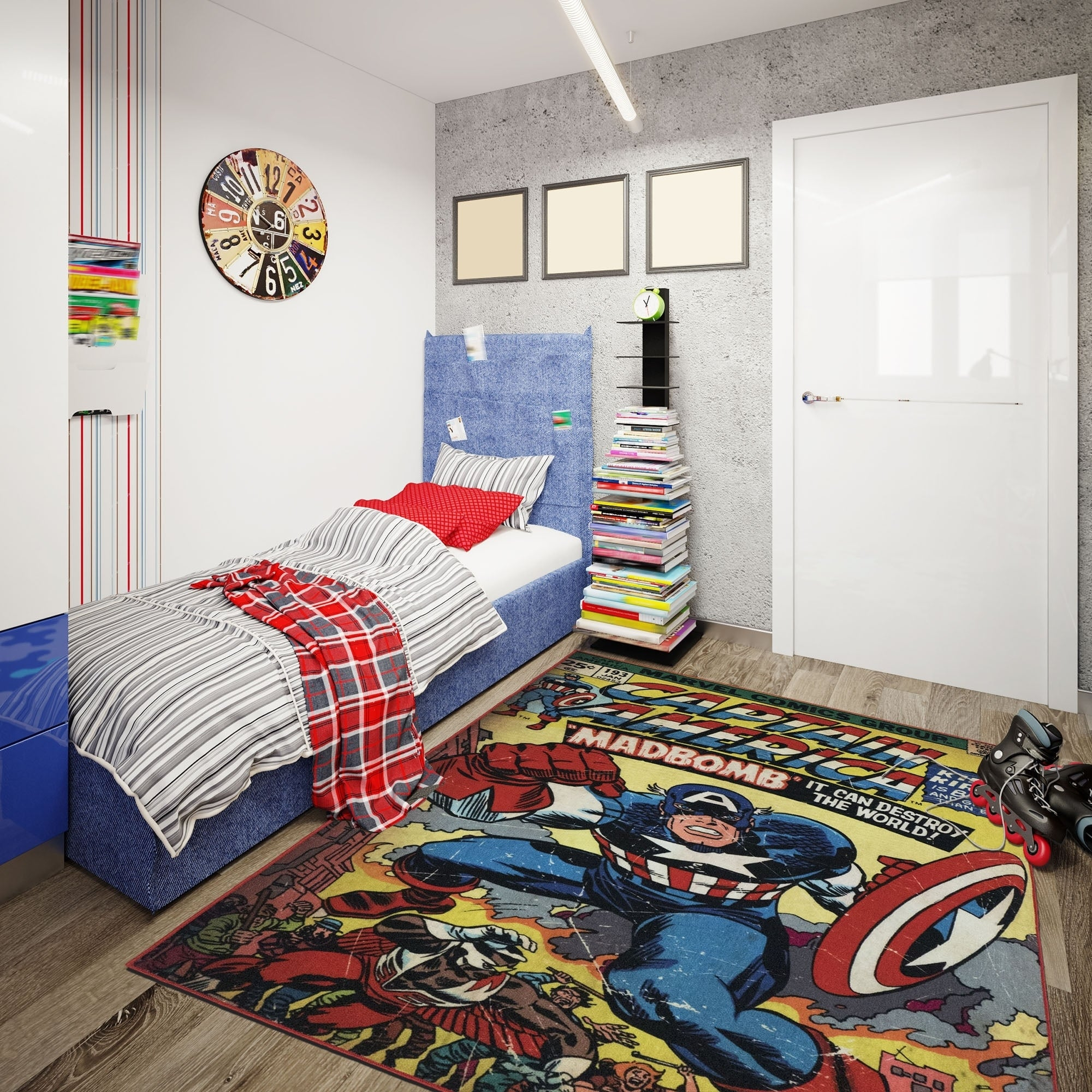 Kids & Tween Rugs & Area Rugs For Less | Find Great Home Decor Deals Zebar Red Bedrooms Decorating Html on