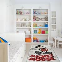 "Mickey Mouse Area Rug by Gertmenian (4'6"" x 6'6"") - 4'6"" x 6'6"""