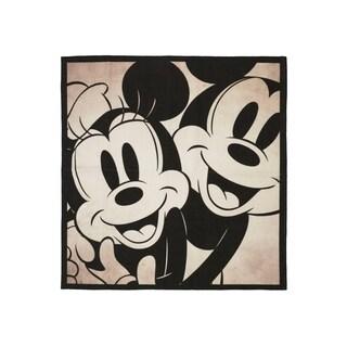 "Mickey & Minnie Mouse Area Rug by Gertmenian (4'6"" x 4'6"")"