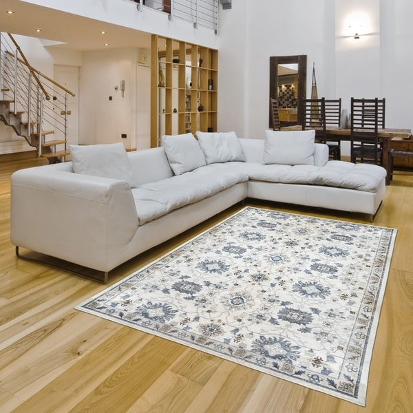 Darien Akira Cream Area Rug By Gertmenian 5 X27 3 X 8