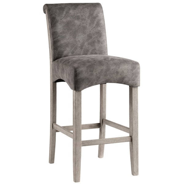 Shop Somette Melody 30 Inch Roll Back Parsons Bar Stool Set Of 2