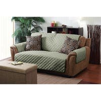 Home Details Furniture Protector Double Side Love Seat Cover