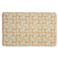 Printed Memory Foam Flora kitchen rug by Bacova - 1'10 x 2'11