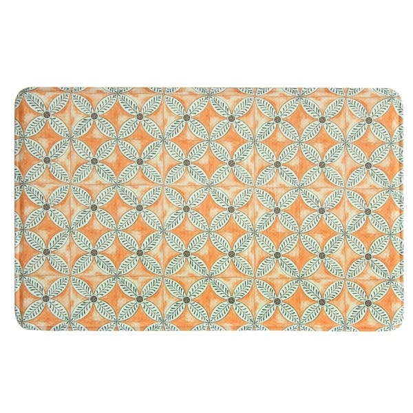 Shop Printed Memory Foam Flora Kitchen Rug by Bacova - Free ...