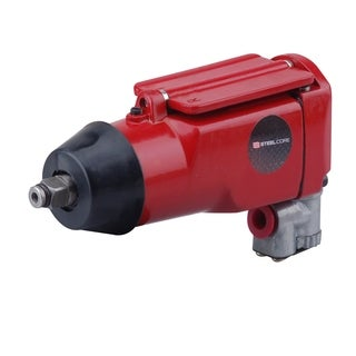 "Steel Core 3/8"" Butterfly Pneumatic Air Impact Wrench with 75ft/lb Torque"